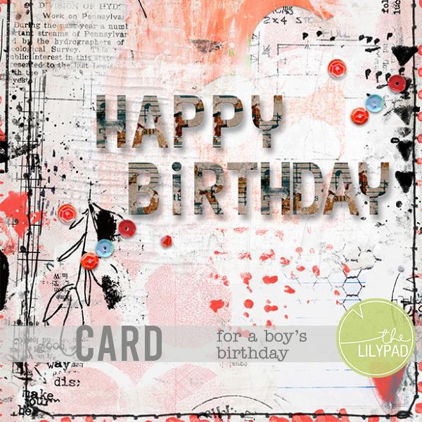 Card making – Birthday