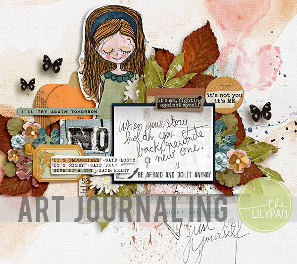 Layered Art Journaling