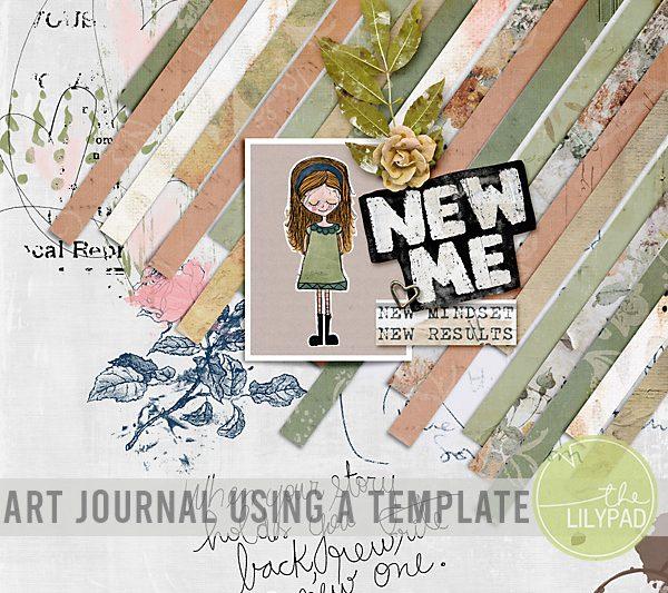Art Journal Using a Template