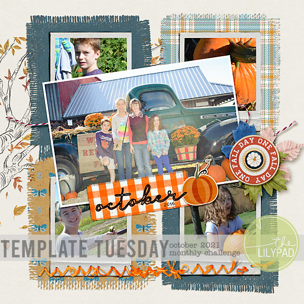 Template Tuesday | October 2021 Challenge
